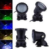 led underwater fishing light - LED RGB Underwater Light Waterproof fountain pool Lamp Aquarium Fish tank Light for Swimming Pool Pond Light