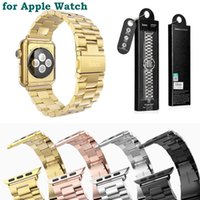 For Apple iPhone band classic - for Apple Watch HOCO Stainless Steel Watch Band Strap Adapter bracelet Watchband Strap Classic Buckle mm mm Colors MOQ