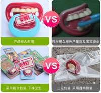 Wholesale 50PCS HOT SALE Silicone Pacifiers Baby Teether Pacifier Funny Pacifier Orthodontic Nipples Novelty gifts baby products