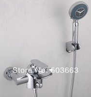 best real estate - Construction Real Estate Best Waterfall Wall Mounted Bathroom Basin Sink Bathtub Chrome Single Handle MF Mixer Tap Faucet