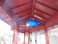 Wholesale 42 Super Outdoor Waterproof Advertising Display LCD TV Android OS USB HDMI P Mirror or Black color Drop shipping