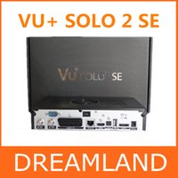 Cheap 2pcs vu solo 2 SE Original Software twin tuner Satellite Receiver Linux 1300 MHz CPU Mini Vu solo2 SE free shipping