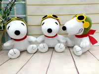 beagle dog toys - Snoopy Plush Toy New Cartoon Peanuts Movie Snoopy Stuffed Dogs Beagle Plush Dolls cm Children Best Christmas Gifts