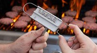 Wholesale BBQ Meat Branding iron with changeable letters Personality Steak Meat Barbecue BBQ Tool Changeable Letters