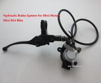 mini bike racing bike - Hydraulic Brake System for racing mini motor mini pocket bike mini dirt bike handle brake model