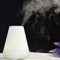 Wholesale 7 color changing Air Humidifier Ultrasonic Aroma Diffuser Humidifier for home Diffuser Mist Maker Fogger with LED light