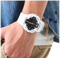 Wholesale 2015 NEW watch dual display digital needle men s GA150 GA A watch the latest fashion GA watch SHOCK watches
