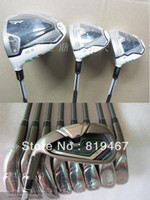 golf club set - Complete golf clubs set Left Hand R B Z driver fairway wood R B Z irons pw aw sw set New free headcover