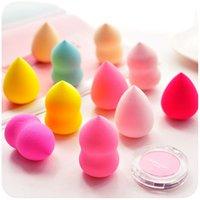applicators sales - Hot Sale Colorful Make Up Sponges mm Powder Puff Latex Applicator Puff Foundation Sponge Beauty Tools Free DHL MU