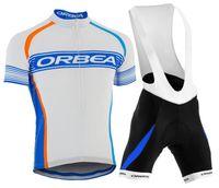 al por mayor orbea babero-2015 Orbea Cycling Jersey Use camisa de la ropa y del gel del cojín del babero sistemas / venta caliente del estilo del verano bicicleta de carreras de bicicletas Ciclismo Maillot Ropa