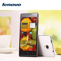 Wholesale Octa core QHD Screen MP Android cell phone G RAM G ROM Lenovo P770 e MTK6592 x1080 mobile phone