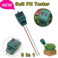 Wholesale 2015 Hot Sale in Plant Flowers Soil PH Test Kits Tester Moisture Meter Light Illuminance Analyzer for Garden Plant Flowers