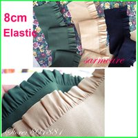 elastic band for shoes - cm Width yds roll color Multi Color Choice Quality Ruffled Elastic Band for Clothing Bag Shoes DIY