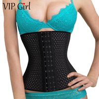 best waist cincher corsets - New arrival sexy women body shaper hollow out slimming corset belt black white waist cincher hot shapers best sale