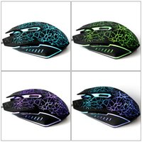 Wholesale Color Changing Wired USB Gaming Mouse With Optical Mouse Color Changing Computer Mouse For Pro Gamer Play LOL DOTA waitingyou