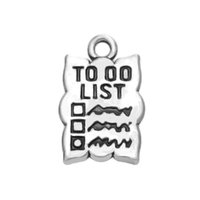 alphabet list - New Fashion Easy to diy Fashion Alphabet To Do List Accessories Charm Jewelry jewelry making fit for necklace or bracele