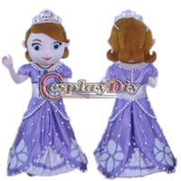 Mascot Costumes Custom Made People New Arrival Custom Made Sofia The First Mascot Sophia mascot Costume Mascot