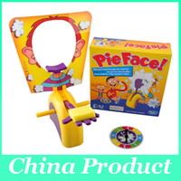 Wholesale Running Man Pie Face games Pie Face Board Games Pie Face Cream On Her Face Hit The Send Machine Paternity Funny toys