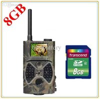 Wholesale HC M HD12MP NM MMS GPRS Scouting Infrared Trail Hunting Camera MMS SMS SunTek f