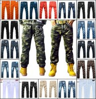 miss me jeans - New brand Men s Jeans high quality Fashion Trousers Denim designer Straight Men Pants Camo Jeans size