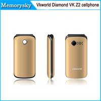 flip camera - Vkworld Diamond VK Z2 Senior Elder Flip Mobile Phones inch with Qwerty Keyboard g GSM MP mAh FM cellphone