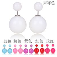 autumn poster - 2015 early autumn posters flagship dual candy colored pearl earrings mix color