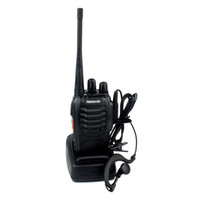 Handheld uhf radio portable - Top Quality UHF Single Band Handheld Portable Radio Retevis H Walkie Talkie Transmitter Receiver Free Earpiece W CH A9104A