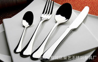 stainless steel manufacturers - British foreign trade of the original single grade stainless steel knife and fork spoon tableware manufacturers suit B155