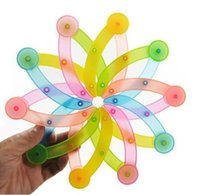 Wholesale 5pcs Funny Colorful Flowers Frisbee Novelty Garland Design Flying Disc Toy For Kids