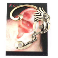 battle punks - 2015 New Arrival Ear Cuff White Middle East Explosion Models Selling Punk Personality Snake Eagle Battle Earhook Earrings Factory Direct