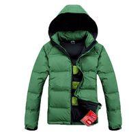 Chaqueta estilo militar informal chaqueta pato puro 90% 2015 marca negocio chaquetas hombres al aire libre parka