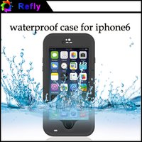 Wholesale Waterproof Case for iPhone inches Fingerprint Identification Redpepper Waterproof Cover With Retail Package Refly