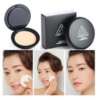 compact powder makeup - Min Order High Quality Brand Makeup Silky Smoonth Face Compact Powder Makeup Pressed Powder Foundation concealer cake