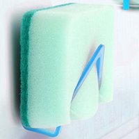 Wholesale Colorful Suction Cup Rack Kitchen Sponge Holder Sink Tub Dish Cloth Storage High Quality