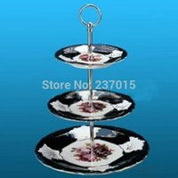 Wholesale Tier Ellipse Cake Plates Stand Centre Handle Fitting Wedding Party Rod quot