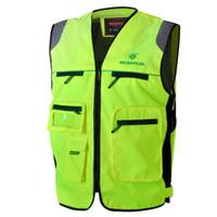 Wholesale Moto racing Jacket horse SCOYCO JK30 jacket reflective clothing reflective vest night safety clothes flanchard made of Polyester fiber