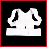 Cheap Free Shipping Magnetic Posture Support Corrector Body Back Pain Belt Brace Shoulder Wholesale 500pcs