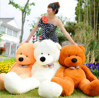 achat en gros de gros ours en peluche rose-Peluche en peluche géant Big Cute / Purple / Pink / Beige / Brown Peluche énorme jouet en coton doux 120cm / 47
