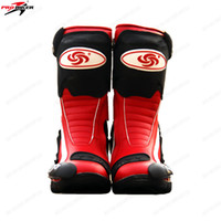 Wholesale top brand German tanks sports boots Hot wheels motorcycle boots califs automobile race sports car boots