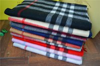 Wholesale 2015 new Christmas Party High quality Grid Cashmere Scarf Unisex scarf Cozy Checked Pashmina warm winter