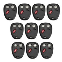 aluminum key blanks - 10pcs REMOTE KEYLESS ENTRY BLANK KEY FOB CASE SHELL PAD FOR Chevrolet BT