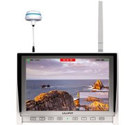 Wholesale 2015 NEW Lilliput DW quot White FPV Monitor GHz Receiver Monitor x800 HDMI DJI Phantom GoPro