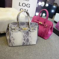 Wholesale Colors Famous Brand Designers New Women Leather Handbags Snake Women s Shoulder Bags Europe Style Luxury bolsas