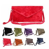 Cheap SUEDE CLUTCH Best hand bag