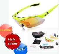 Wholesale UWOLFBIKE Fashion Sport Men Women V400 Polarized Sunglasses Safety Eyewear Goggle Glasses Lens for Bicycle Bike Riding hight quality
