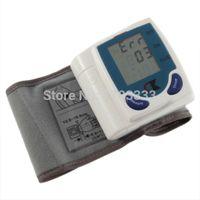 Wholesale 50 pieces Automatic Digital Wrist Blood Pressure Monitor Heart Beat Meter Sphygmomanometer Prevent Hypertension