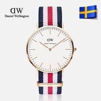 Cheap Top Brand Luxury Daniel Wellington Watches DW Watch For Men women Leather strap Japan movement Military Quartz Clock Reloj 40mm
