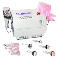 Wholesale 40k Cavitation Lipo Laser Multipole RF Photon Vacuum Fat Cellulite Slimming Gold