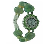 agent india - Factory direct free agent natural India agate bracelet watch Ms Crystal watch gift table