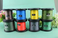 Wholesale 1000m Braided single color PE Fishing Line Super Strong Japan Multifilament Dyneema Extreme braided line